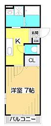 オリオンパーク[2階]の間取り