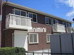 愛知県あま市木田北屋敷の賃貸アパートの外観