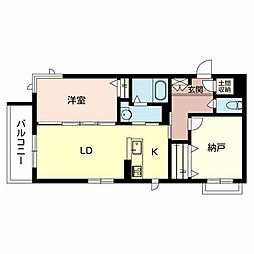 (仮称)堺市・堺区シャーメゾン五月町[2階]の間取り