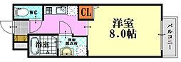 PLEIN SOLEIL 東霞町[3階]の間取り