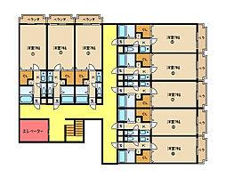 アルンハイム新石切[6階]の間取り