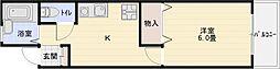 TOYOマンション[4階]の間取り