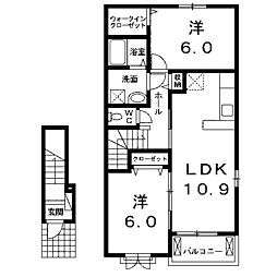 VentVert[2階]の間取り