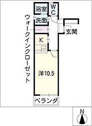 U・TOPIA79南棟[1階]の間取り