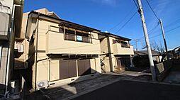 千葉県流山市松ケ丘3丁目の賃貸アパートの外観