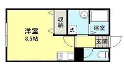湘南サンライズガーデンIII B棟[104号室]の間取り