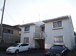 茨城県守谷市松並の賃貸アパートの外観