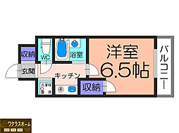 ノアーナ堺東[2階]の間取り
