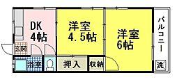 寿仙坊ビル[3階]の間取り