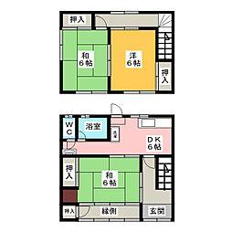 [一戸建] 愛知県一宮市大和町馬引字郷裏 の賃貸【愛知県 / 一宮市】の間取り