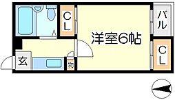ランドレディ2[3階]の間取り