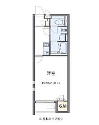 Osaka Metro今里筋線 瑞光四丁目駅 徒歩13分の賃貸アパート 1階1Kの間取り