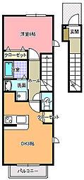 アウローラ[2階]の間取り