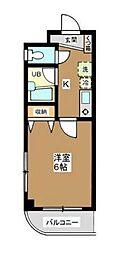 東京都墨田区東向島5丁目の賃貸マンションの間取り