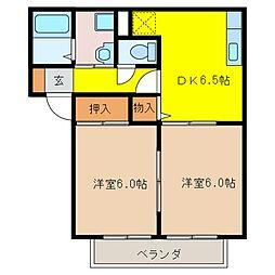 Residence−彩[2階]の間取り