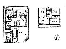 B号棟建物プラン 建物価格1、030万円(税込)