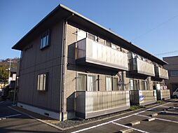 岡山県倉敷市広江2丁目の賃貸アパートの外観