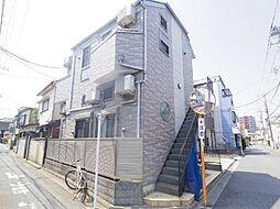 東京都葛飾区青戸6丁目の賃貸アパートの外観
