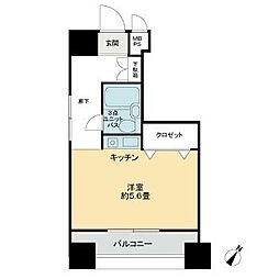 神奈川県横浜市中区寿町1の賃貸マンションの間取り