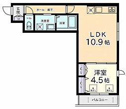 メゾン ヴァンヴェール[2階]の間取り