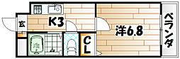 ウィステリアビル[4階]の間取り
