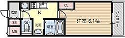 アスヴェル新北野モスト[8階]の間取り