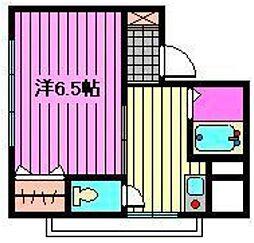 埼玉県さいたま市北区日進町3丁目の賃貸マンションの間取り