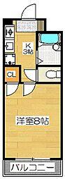 フォレストファミリー96[3階]の間取り