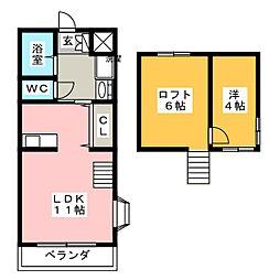TYハウス倉賀野[2階]の間取り