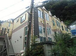 神奈川県横須賀市田浦大作町の賃貸アパートの外観