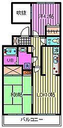 センチュリー浦和[7階]の間取り