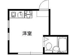 ホルティ高円寺[1階]の間取り