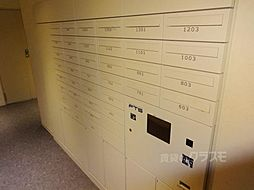 S-GLANZ大阪同心の宅配ボックス完備です。