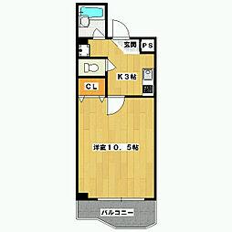BOIS DE BOULOGNE[1階]の間取り