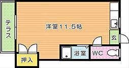 レガーロ黒崎I[1階]の間取り