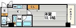 ランドマークシティ大阪城南[9階]の間取り