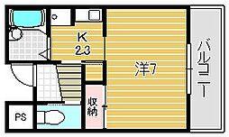 プリマヴェーラII[1階]の間取り