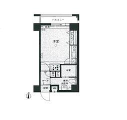 エステートモア姪浜II[2階]の間取り