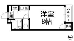 清水マンションI[0303号室]の間取り