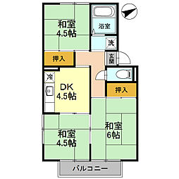ピュアハイムI[2階]の間取り