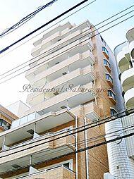 神奈川県藤沢市南藤沢の賃貸マンションの外観