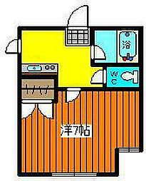 たまねぎアパート[106号室]の間取り