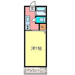 アネックス22[2階]の間取り