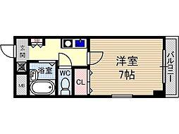 末広14番館[4階]の間取り