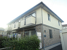 千葉県流山市三輪野山2丁目の賃貸アパートの外観