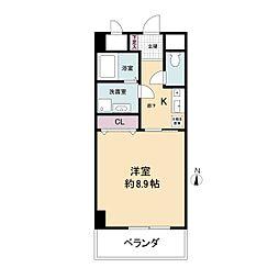 幸田マンション幸町(旧:アルティス幸町)[1002号室]の間取り