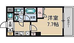 東明マンション新東[3階]の間取り