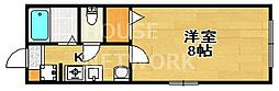 フラットシャープ[202号室号室]の間取り