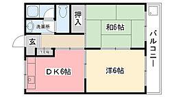 甲子園ファイブ[103号室]の間取り
