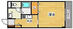 アメニティー・ステーション・東山[2階]の間取り